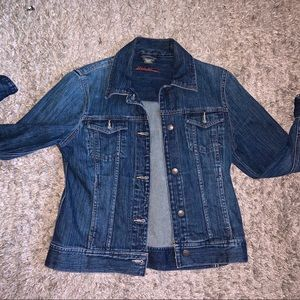 Eddie Bauer never worn amazing quality jean jacket